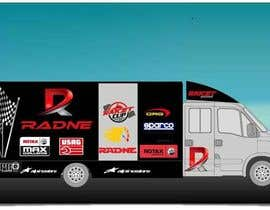 #111 for Design Transport Van with logos by sasacool1