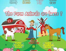 #28 for Farm Animal Round - Up Maze Game by Thabsheeribz