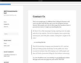 #2 for Create Simple Three Page Wordpress Website by realYuR