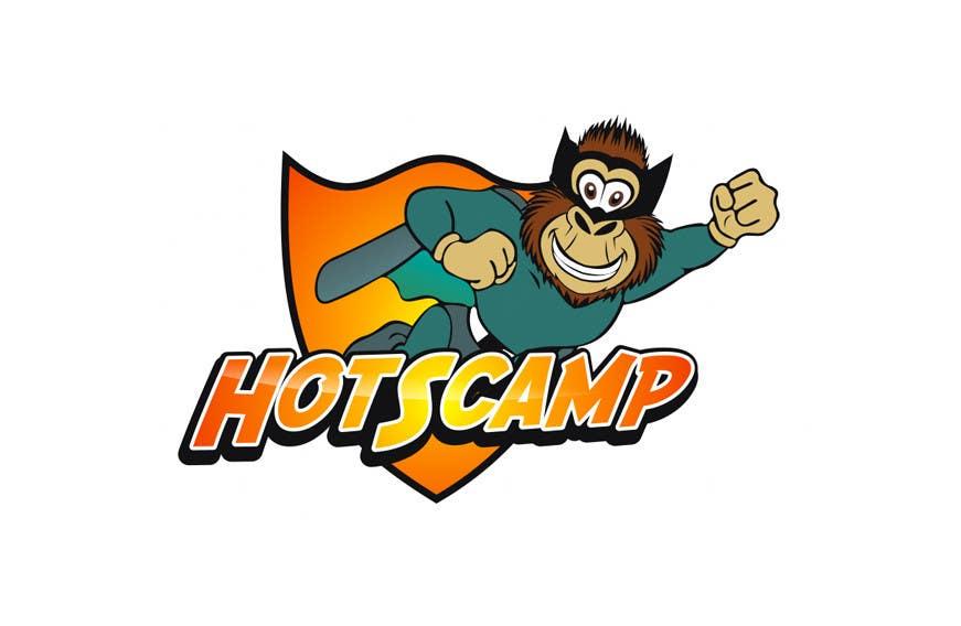 Конкурсная заявка №55 для Illustration Design for HotScamp