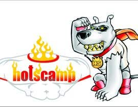 #33 para Illustration Design for HotScamp por mazec