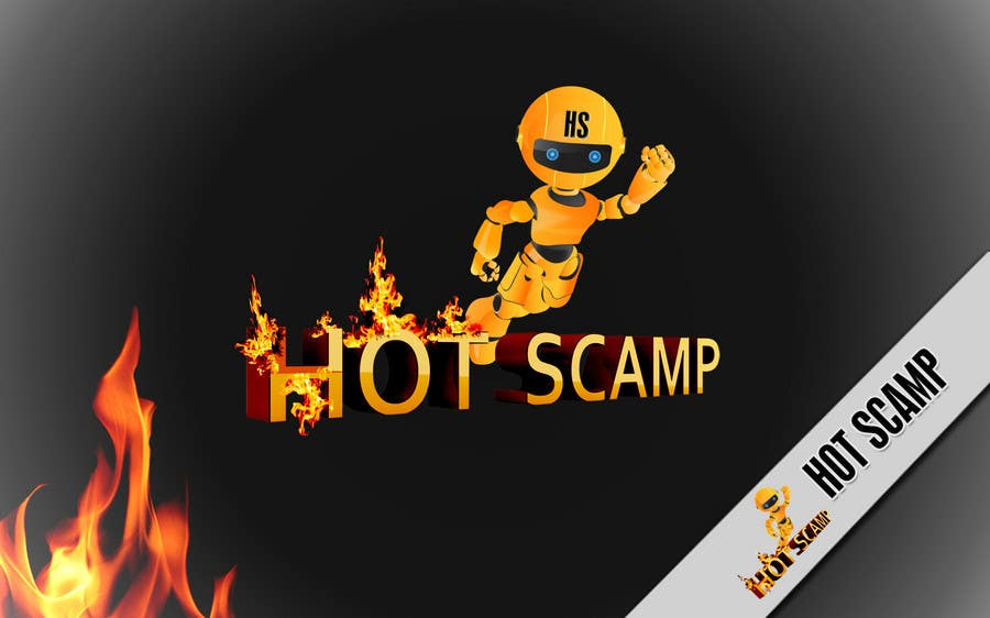 Contest Entry #                                        61                                      for                                         Illustration Design for HotScamp