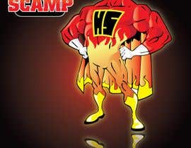 #74 dla Illustration Design for HotScamp przez MyPrints