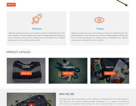 #22 for Craft and Trimming Home Page by shakilaiub10