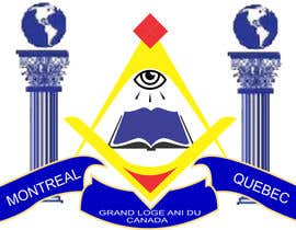 #11 for Design a 406 x 64 logo for a masonic website by adminenc