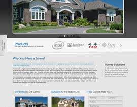 #14 untuk Design a Website Mockup for titlesurvey.com oleh lassoarts