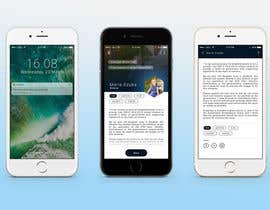 #15 for iPhone App screenshot mockup by suvenjitpal