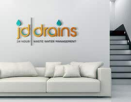 #83 for Design a Logo for JD DRAINS LTD by jefpadz