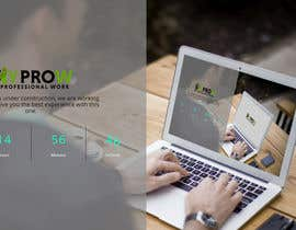 #40 for Build a coming soon page for my Website and design the related back ground by click2me