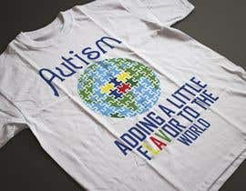 #50 for Autism World T Shirt by nobelahamed19