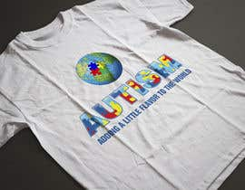 #17 for Autism World T Shirt by fesiiqbal