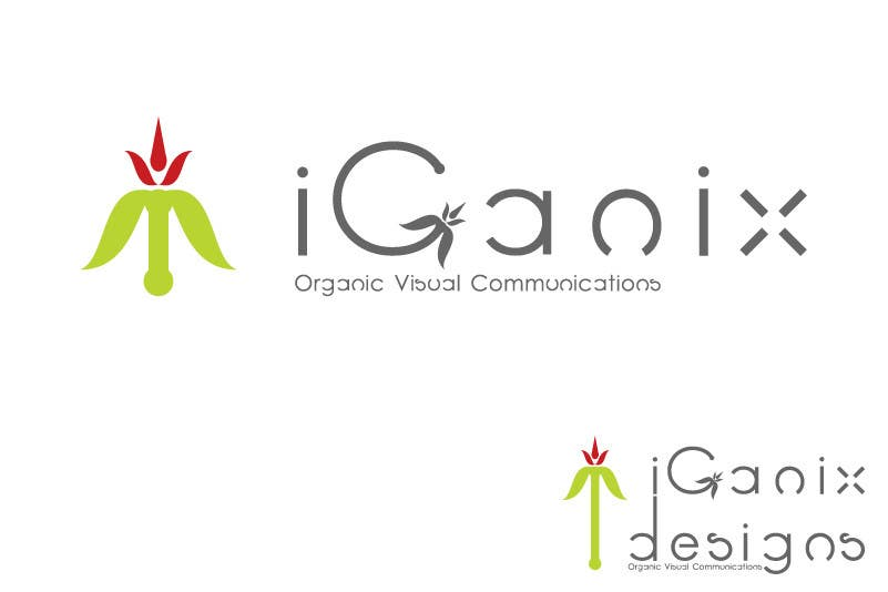 #275 for Logo Design for eGanic Designs by sirvasili