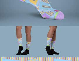 #9 for I need some retro 80's sock designs by PetarJaksic