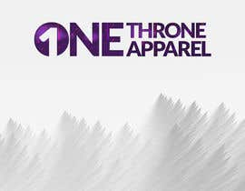 #13 for Design a Logo (ONE Throne Apparel #2) by manzoor955