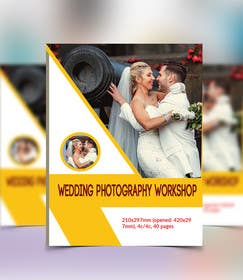 #3 for Design of a 2017 Wedding Photography Workshop brochure by plannertuhin
