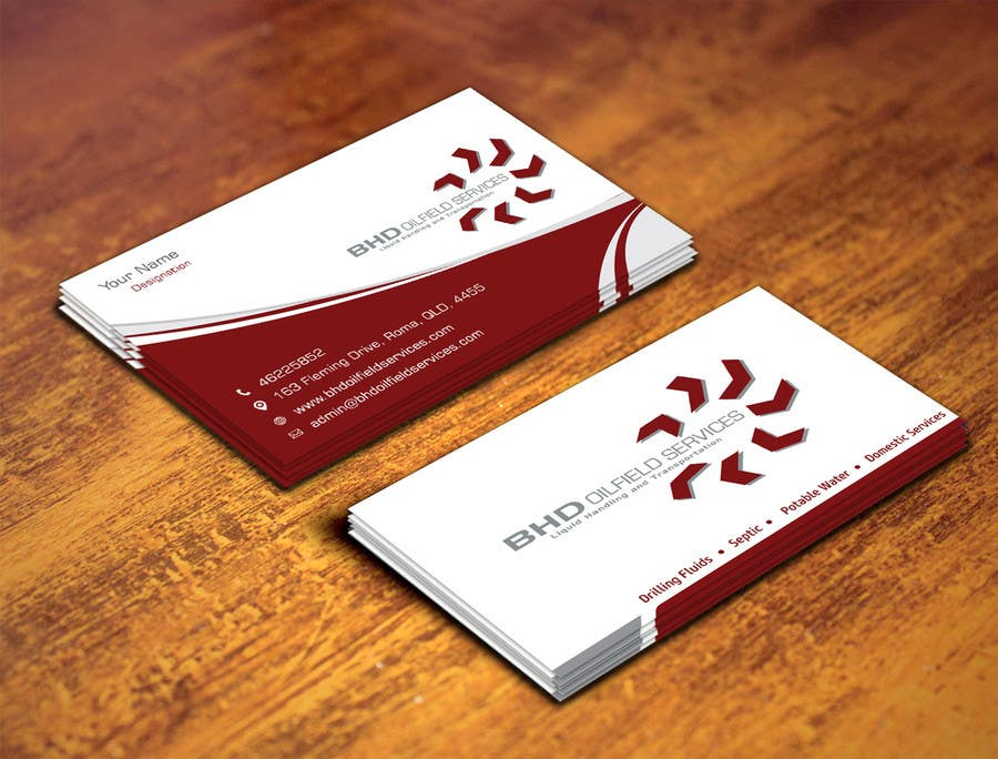 Entry #139 by ambalaonline1 for BHD Oilfield Services Business Cards ...