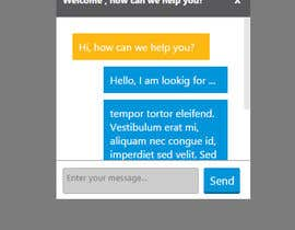 #11 for Creative CSS Design for LIVECHAT Widget by mwarriors89