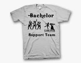 #34 for Bachelorparty T-shirt by shamemarema24