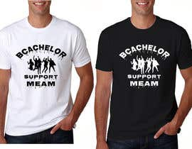#23 for Bachelorparty T-shirt by asashik065185