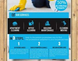 #69 for Create a flyer for a cleaning service by Dreamachievers