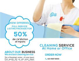 #61 for Create a flyer for a cleaning service by KanisWorld