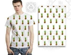 #12 for Pineapple shirt design (vector format) by davidfreedesign