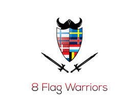 #13 for Design logo with 8 nationalities flags by Kosingas