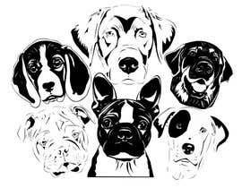 #41 for Dogs TShirt by elmerdom