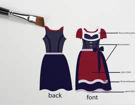 "#26 for DESIGN FASHION - Create a unique and fancy ""Dirndl 2020"" by jaharaswapnil"