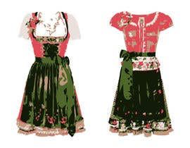 "#22 for DESIGN FASHION - Create a unique and fancy ""Dirndl 2020"" by aniqmahiuddin"