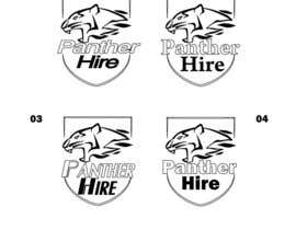 #7 for Panther Hire Logo by wpurple