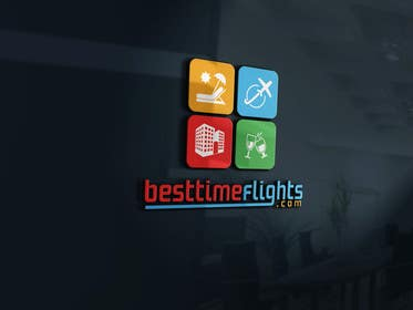#122 for Logo for website www.besttimeflights.com by parvesmhp
