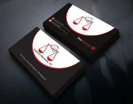 #77 for Design some Legal Business Cards by monir7554