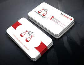 #78 for Design some Legal Business Cards by monir7554