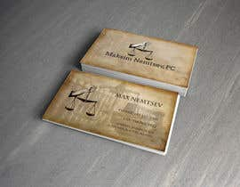 #245 for Design some Legal Business Cards by Jabirjunayed