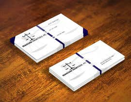 #246 for Design some Legal Business Cards by tanber