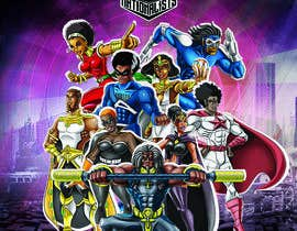 #8 for Super Heroes Poster by boki9091
