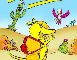 #67 for Illustrate Children's Book: Lemon Armadillo by ecomoglio