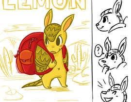 #48 for Illustrate Children's Book: Lemon Armadillo by marcelmori