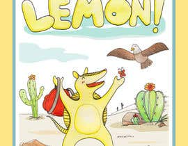 #27 for Illustrate Children's Book: Lemon Armadillo by PapiiziipaP
