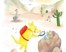 #69 for Illustrate Children's Book: Lemon Armadillo by alenkaart