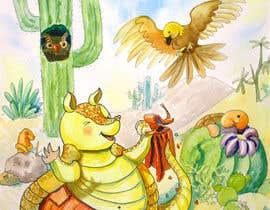 #79 for Illustrate Children's Book: Lemon Armadillo by lesiazveerr