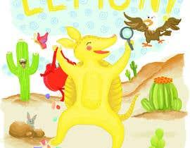 #83 for Illustrate Children's Book: Lemon Armadillo by mikasa6