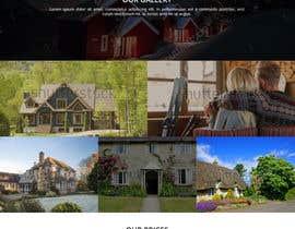 #17 for Design a Website Mockup for a Cottage by WebCraft111
