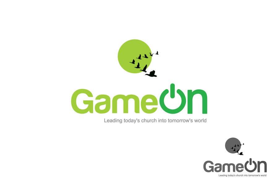 Kilpailutyö #217 kilpailussa Logo Design for Game On