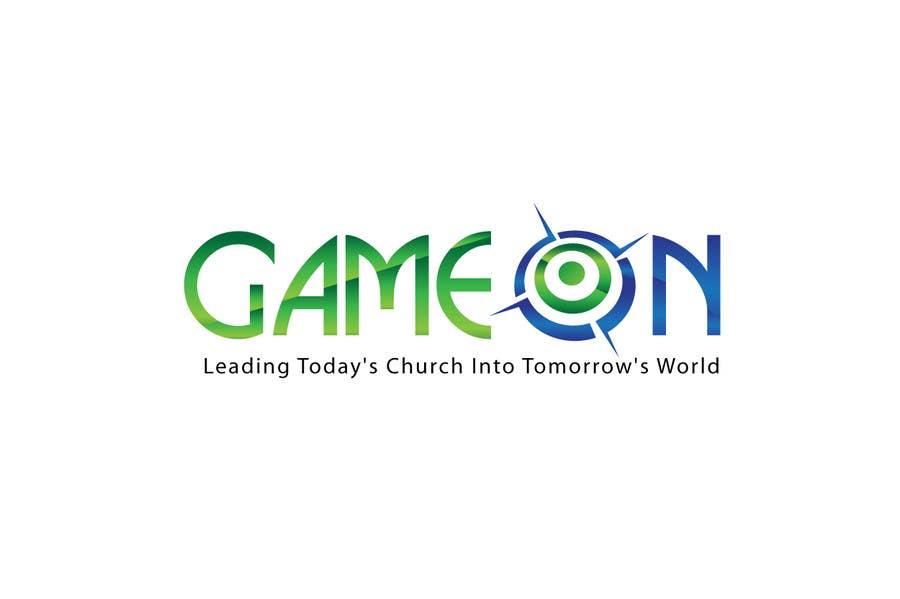 Kilpailutyö #246 kilpailussa Logo Design for Game On