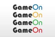 Graphic Design Konkurrenceindlæg #147 for Logo Design for Game On