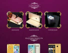 #18 for Design a Website Mockup for Luxury phones by adixsoft