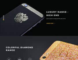 #26 for Design a Website Mockup for Luxury phones by tamamanoj