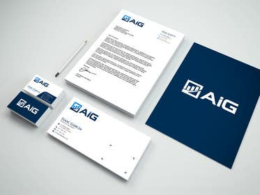 #2676 for Design a logo for AIG by Moon1990